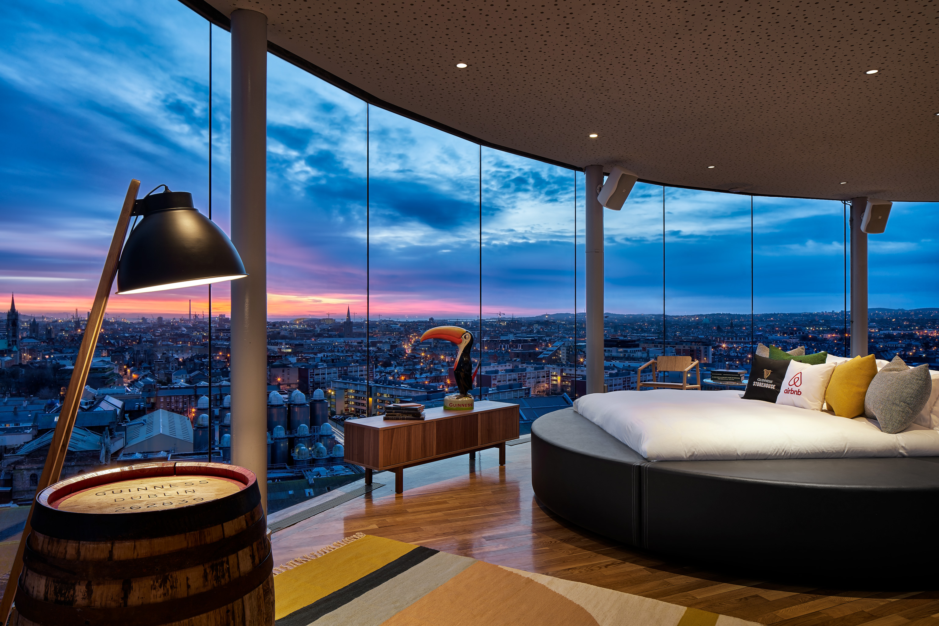 "Open the Gates: Spend a ""Night At"" the Home of Guinness"