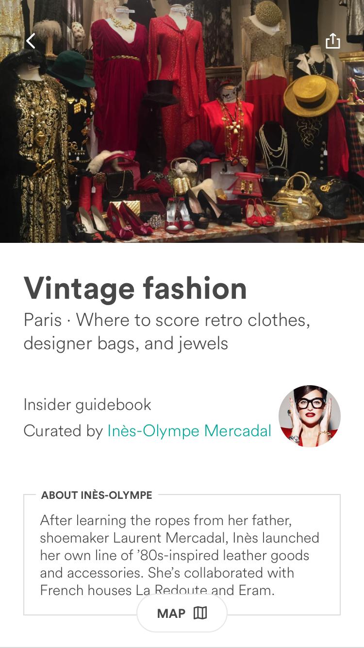 Paris Guidebooks – Ines-Olympe Mercadal, Vintage Fashion 1
