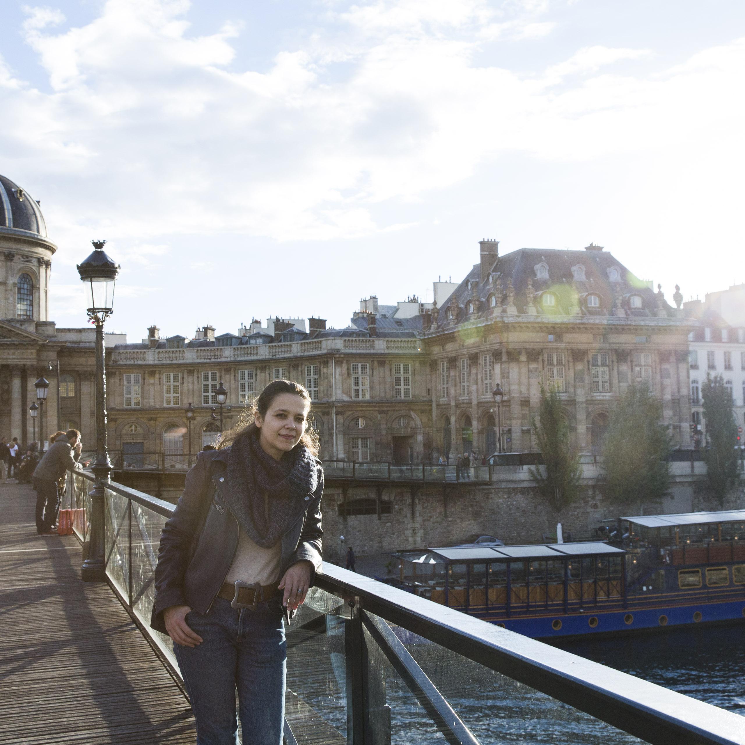 Paris – Aline, Philosophy at St. Germain 2