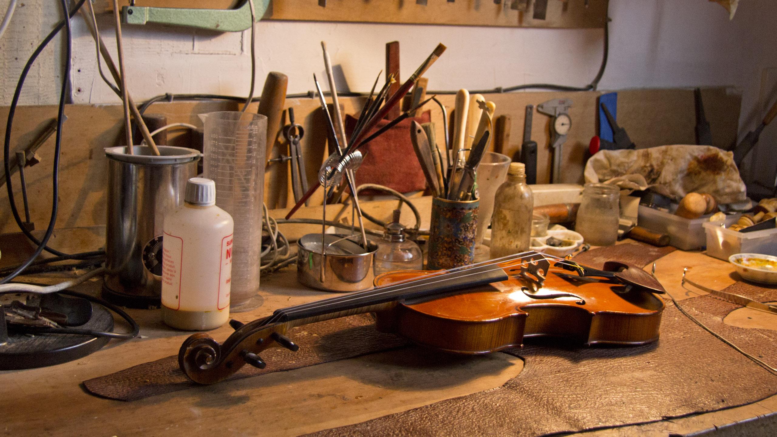 Paris – Anne & Frederic, Violin Whisperers 2