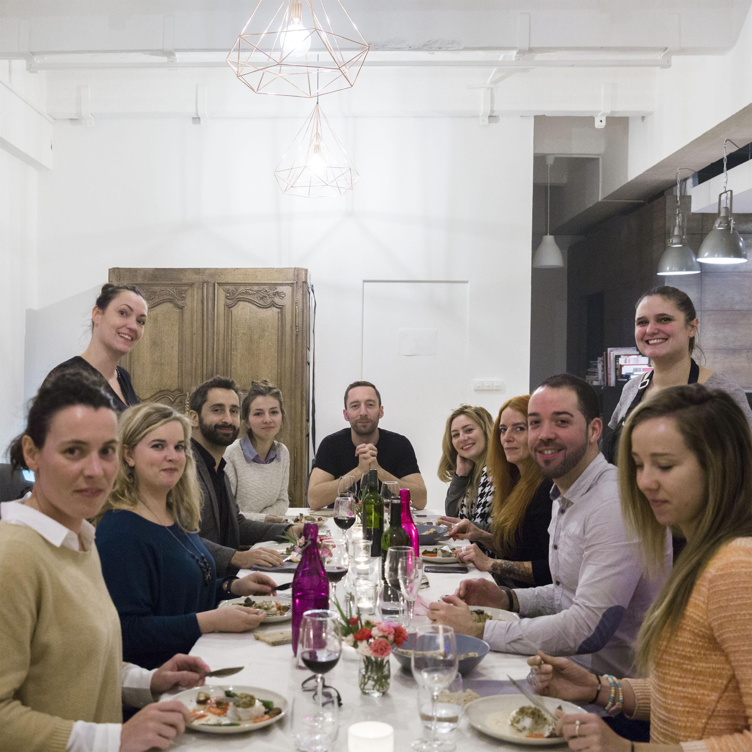 Paris – Emilie, Dinner at Les Frigos Art Space 5