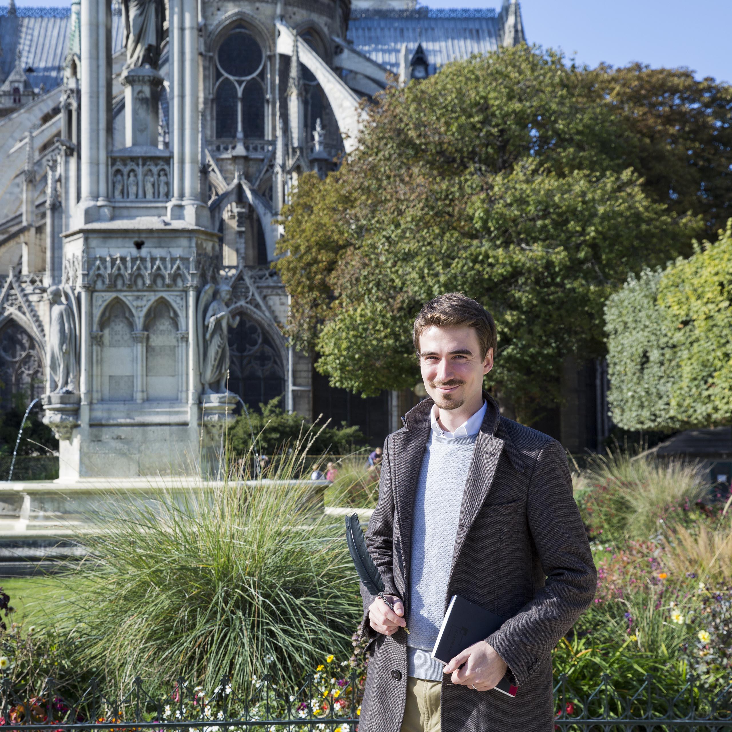 Paris – Georgi, Medieval Buildings & Calligraphy 4