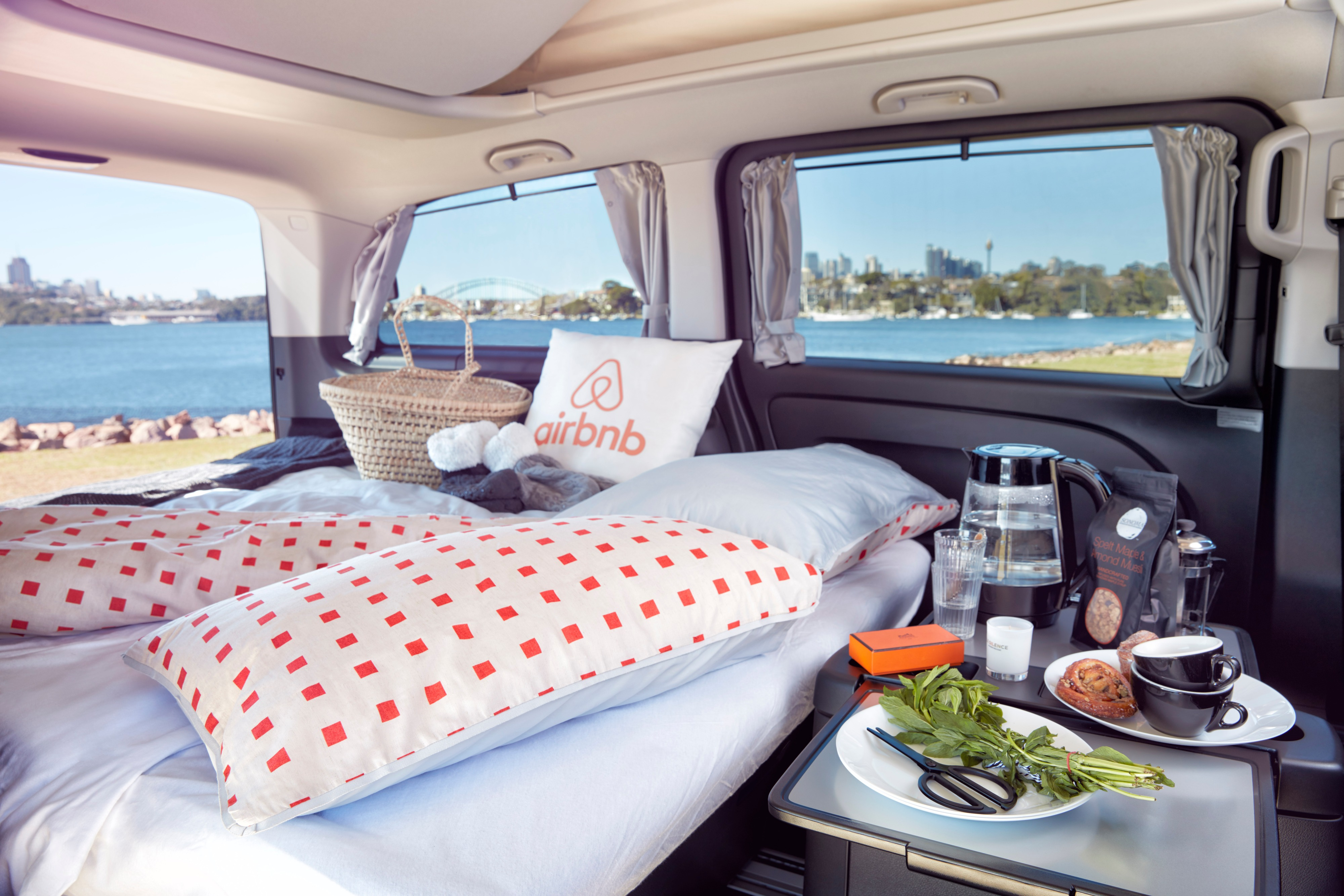 Front Seat With a View: Mercedes-Benz Vans and Airbnb Team Up on Unique Sydney Harbour Experience