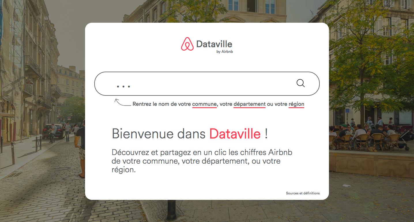 Airbnb publie Dataville, portail d'open data sur l'activité des hôtes et voyageurs dans des milliers de communes, départements et régions de France.
