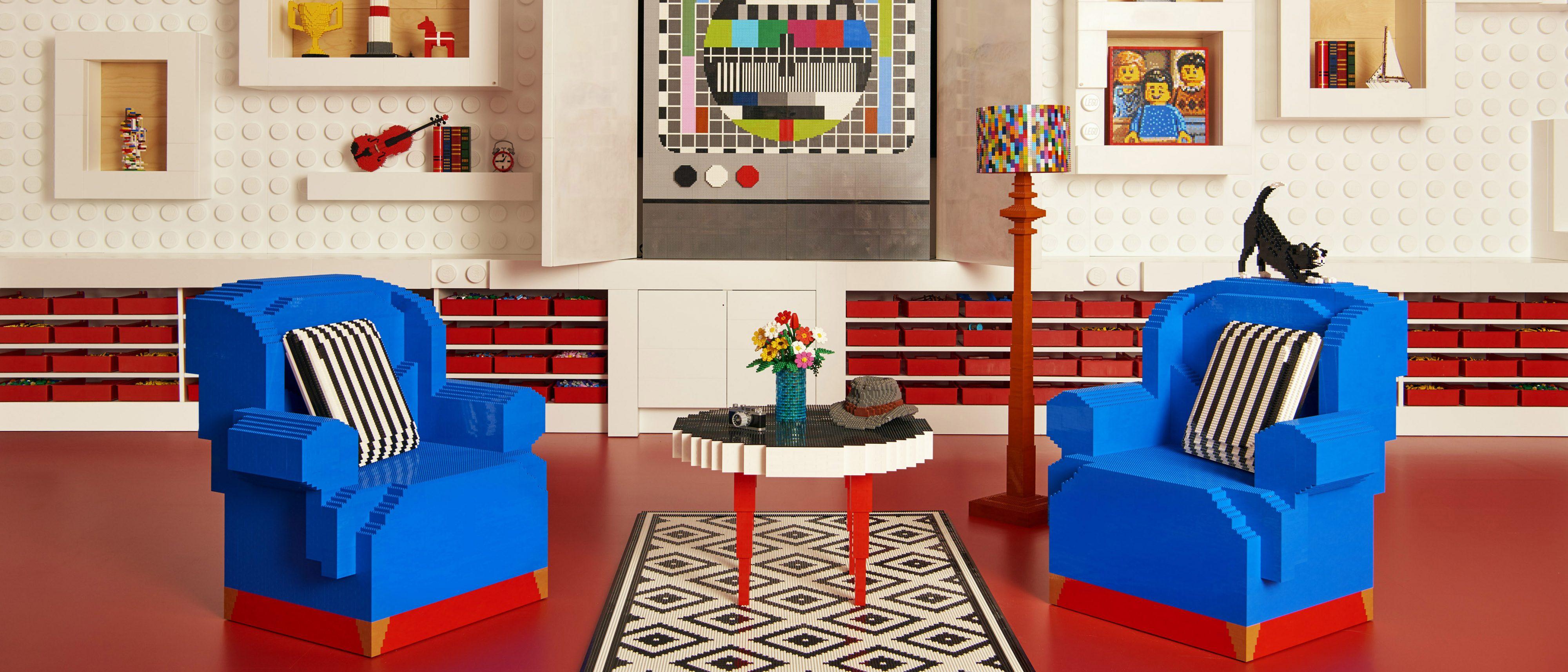 Eine Nacht im LEGO® House mit Airbnb - Airbnb-Pressebereich