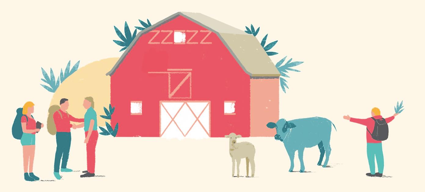 Airbnb au Salon International de l'Agriculture 2018 pour soutenir le développement de l'agri-tourisme en France