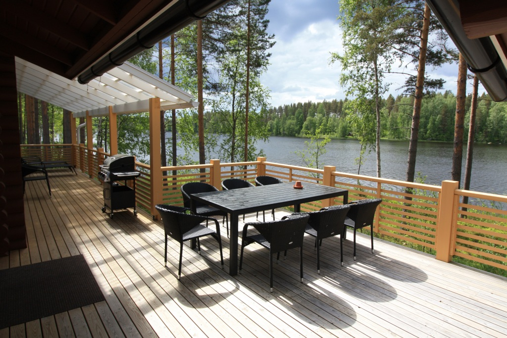 Lakeshore Villa, Kangasniemi, Finland