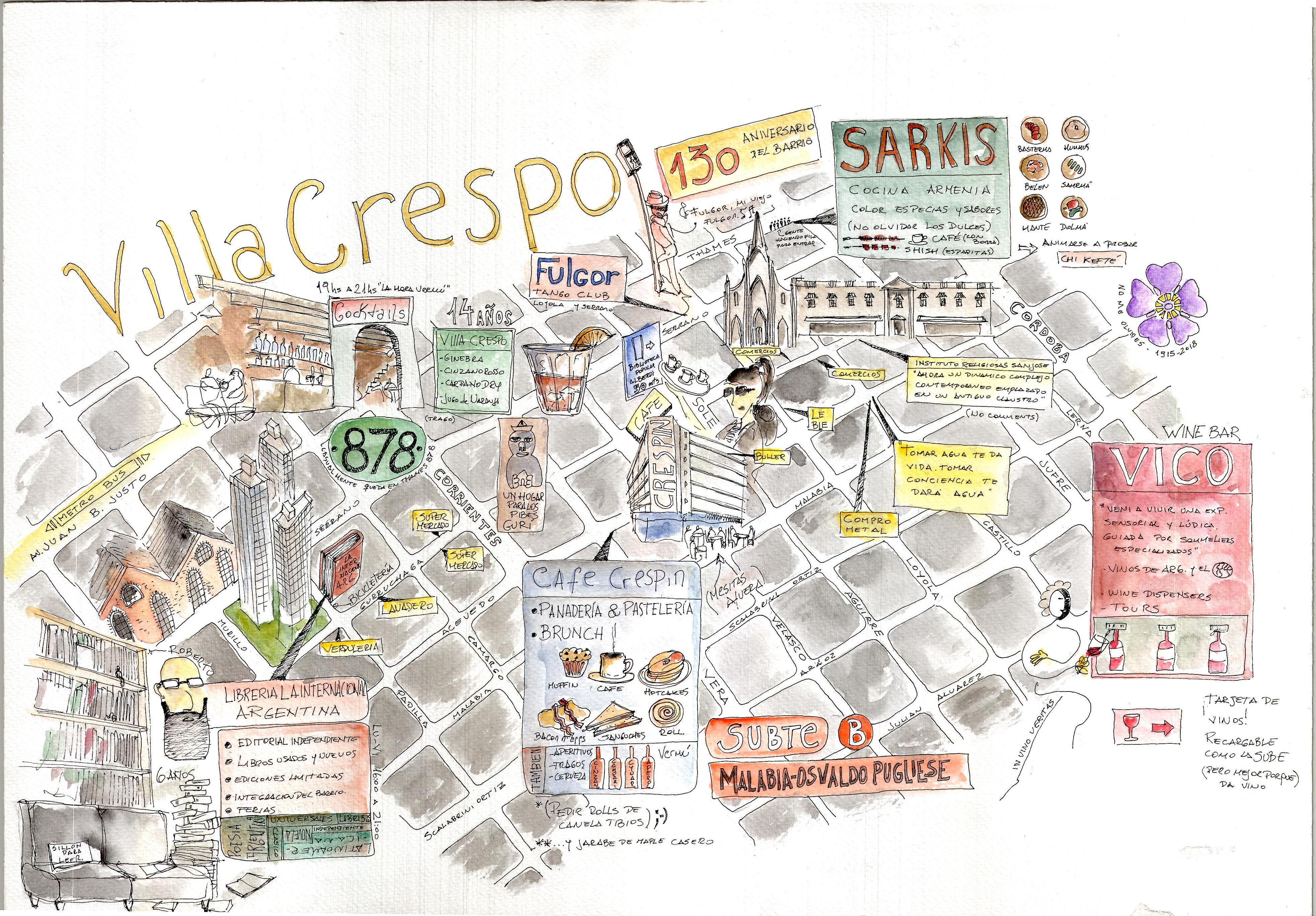 Dónde alojarse y qué hacer en Villa Crespo: guía con recomendaciones de nuestros anfitriones de Buenos Aires