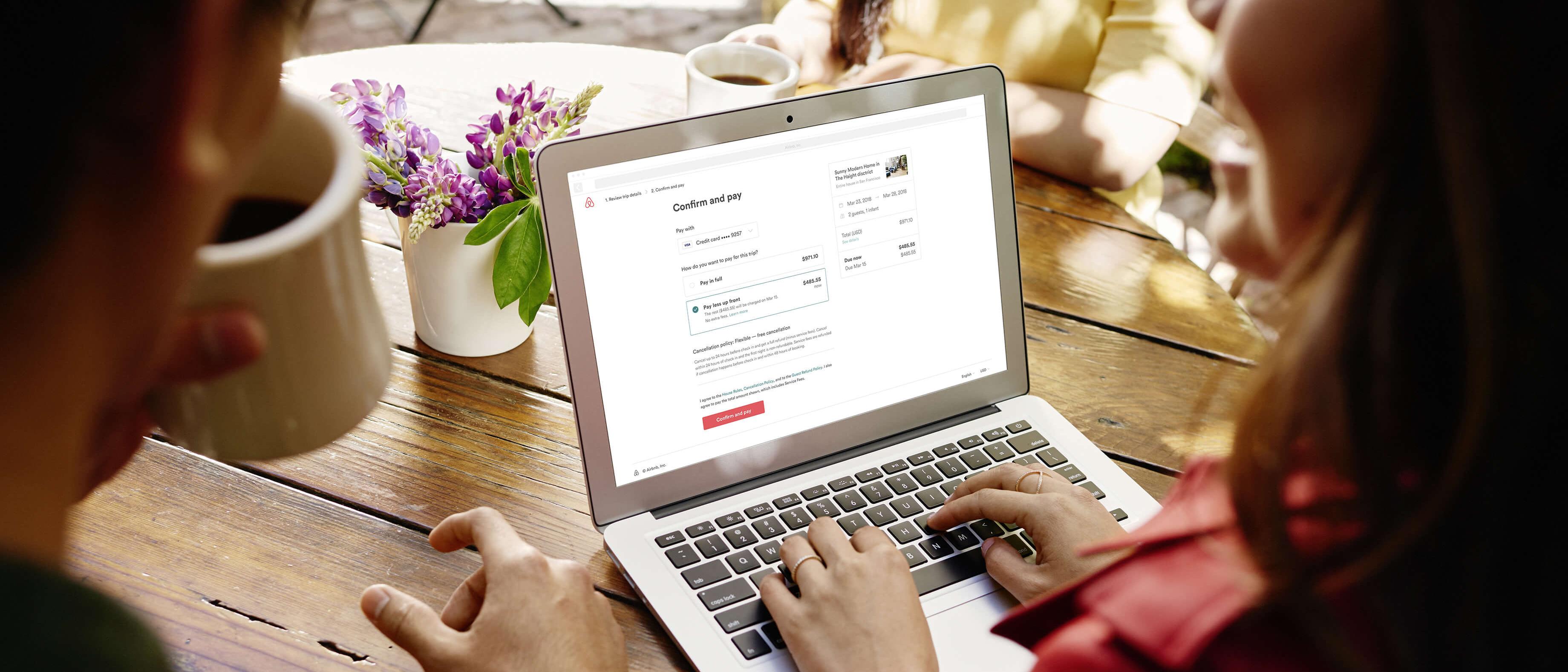 Airbnb lanza una nueva opción de pago flexible para viajeros